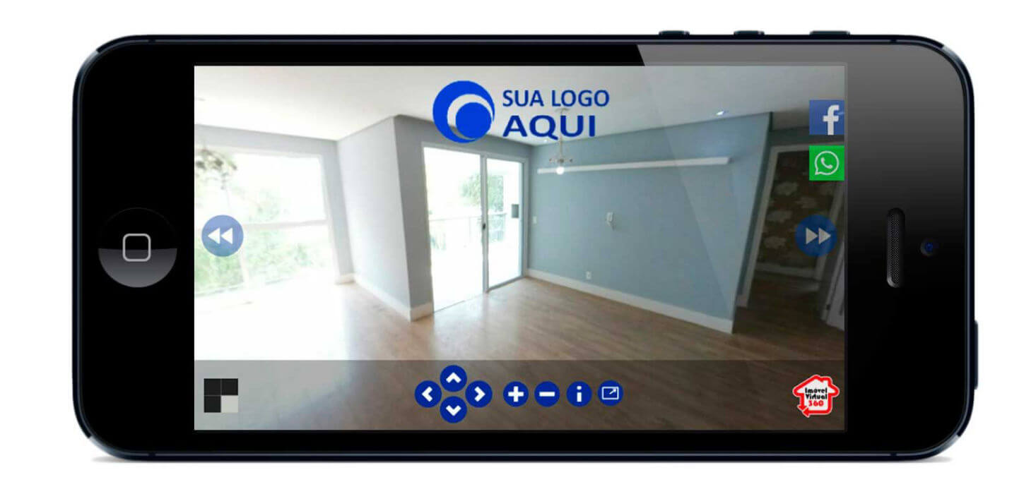 Tour Virtual 360 no smartphone