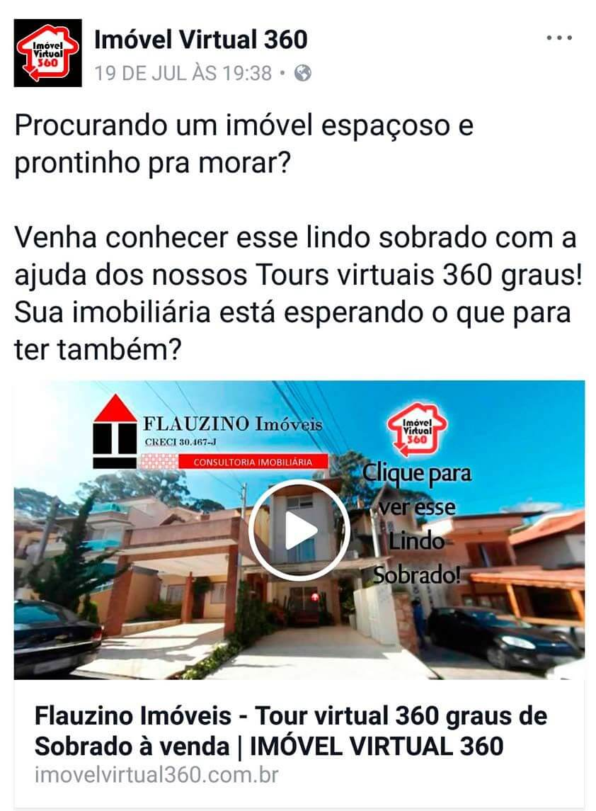 Tour virtual para imobiliarias